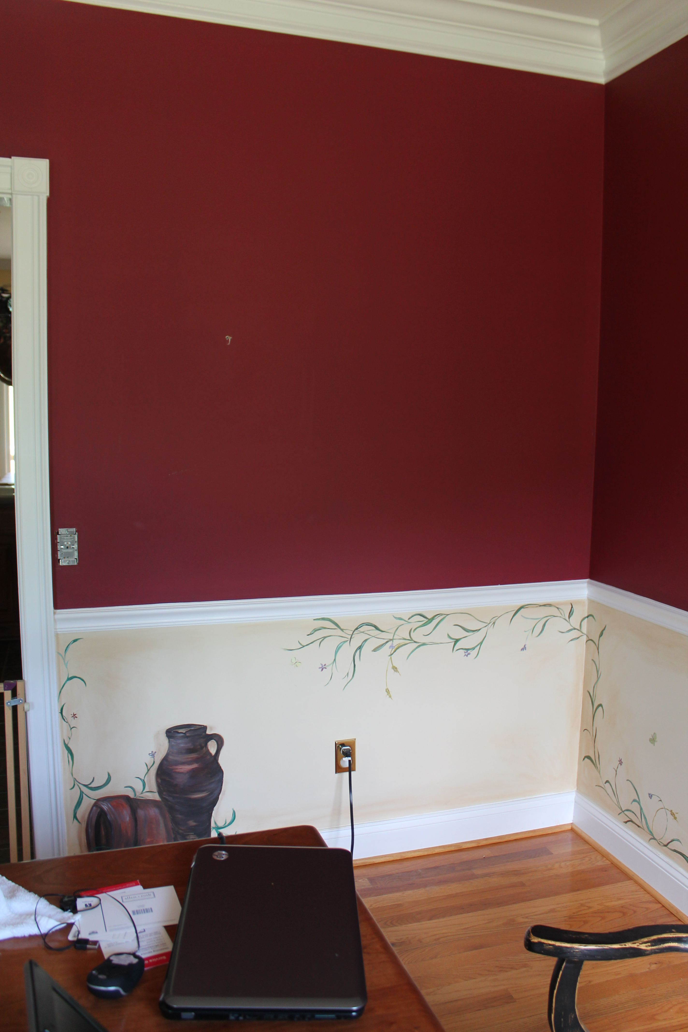 dining room project u2013 before