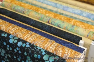 Fabric for Mendota, Virginia Cemetery Quilt