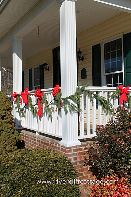 Porch Decorated