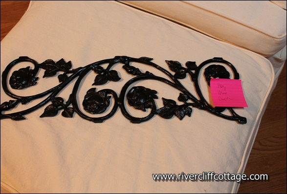 Wrought Iron Curly Piece