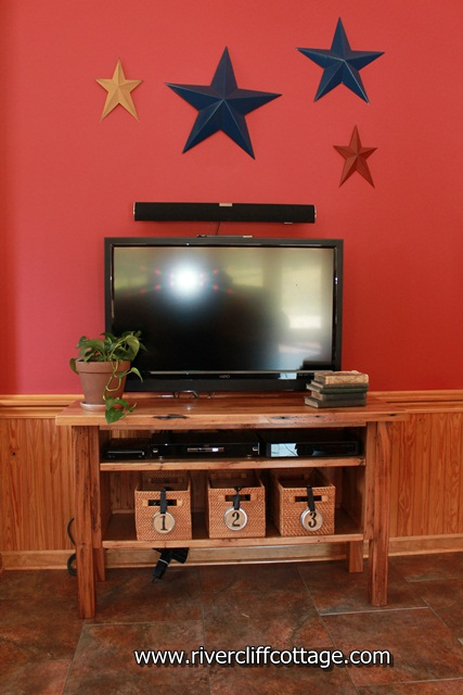 Entertainment Center in Room