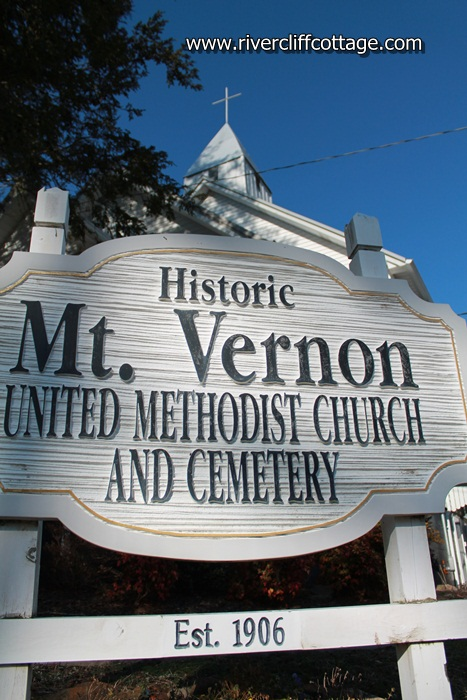 Mt. Vernon Church Sign
