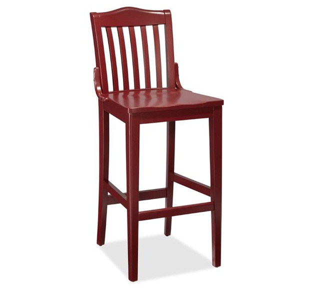 Pottery Barn Bar Stool Decker Barstool Traditional Bar  : Pottery Barn Red Bar Stool from amlibgroup.com size 640 x 576 jpeg 40kB