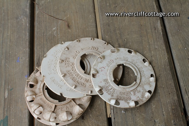 Garden Seeder Wheels