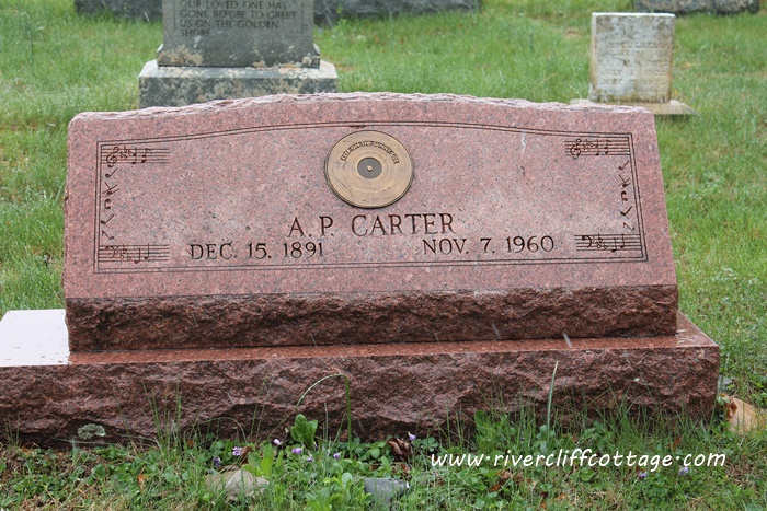 A.P. Carter's Headstone