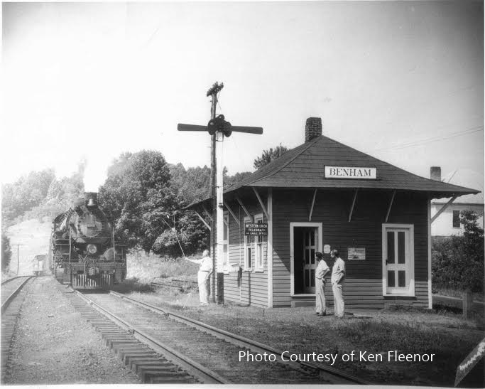 Benham Depot With Photo Credit
