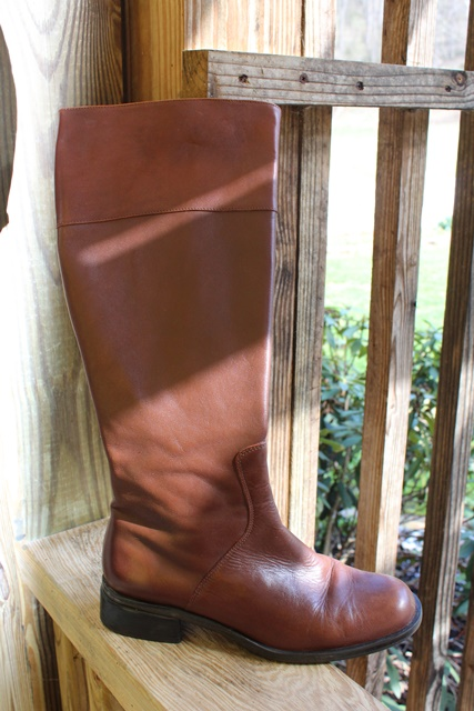 Brown Knee Boot