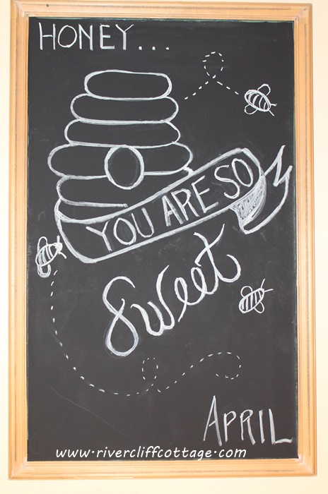 Chalkboard Honey So Sweet