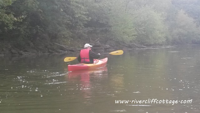 Eva Kayaking