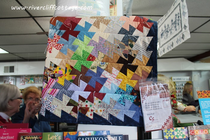 Fabric Quilt Display