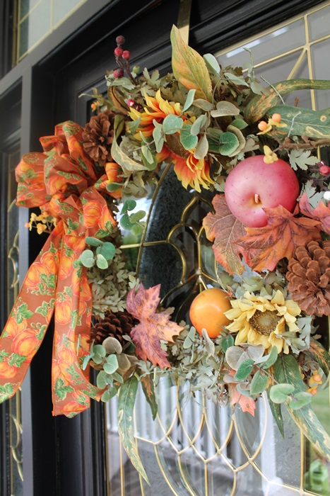 Fall Door Wreath 2