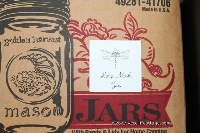 Jars Labeled