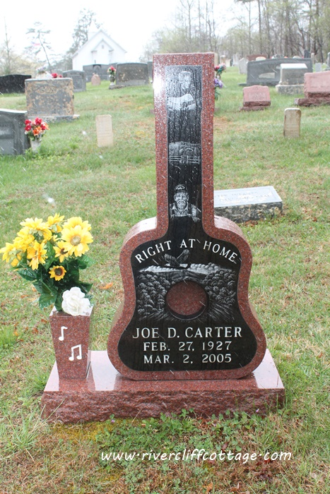 Joe Carter Headstone
