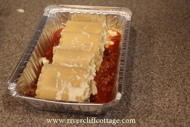 Lasagna Rollups Without Sauce
