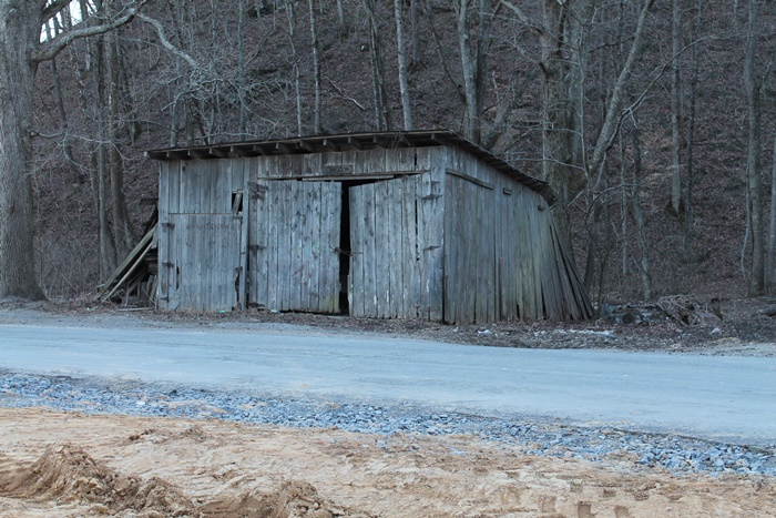Old Garage on Barn Rock