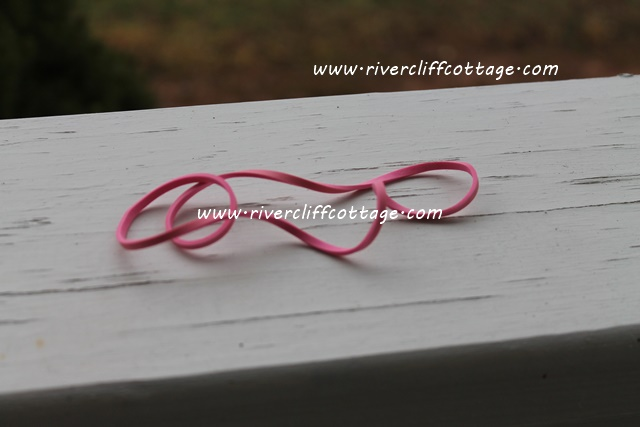 Pink Rubber Band