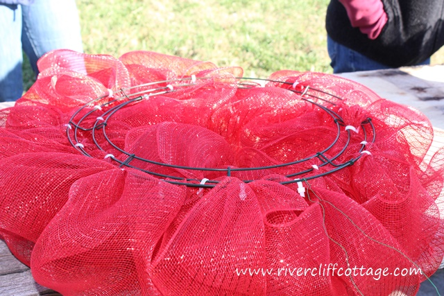 Pretty Red Wreath