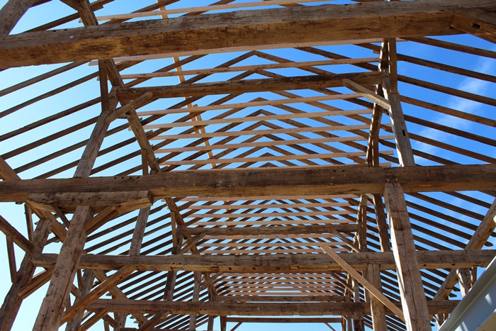 Roof of Crooked River Event Barn