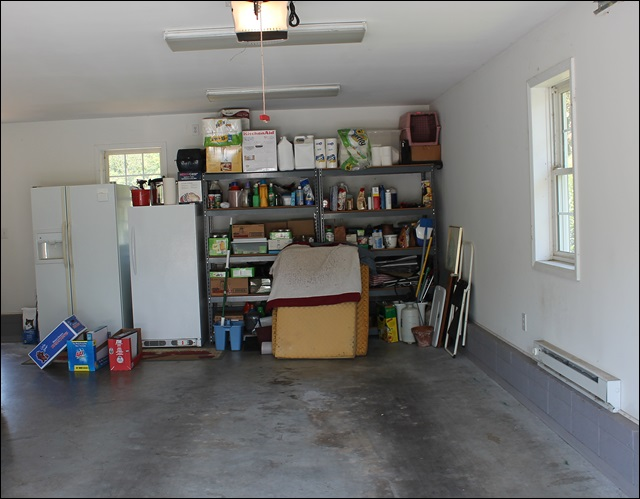Unorganized Garage 1