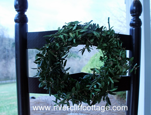 Wreath on Chair 2
