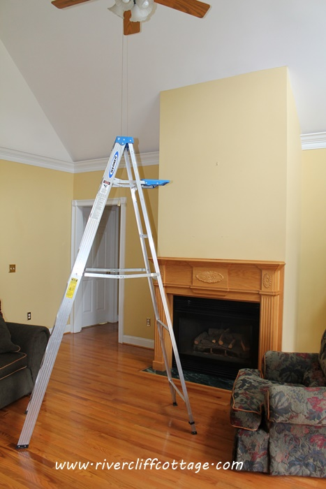 Benjamin Moore Concord Ivory Rivercliff Cottage A Journey